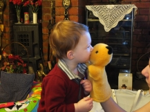 Kisses with Sooty
