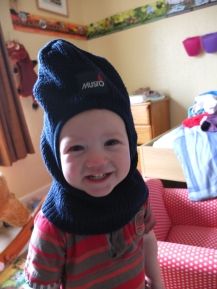 Funny hat!